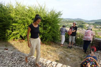 Séance d'écoute à Saint Michel l'Observatoire