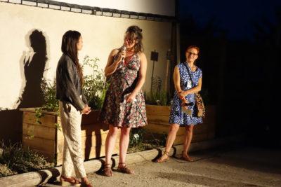 Marie Pascale Dubé, Lola Contal et Marion Coste